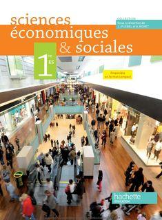 Sciences economiques et sociales 1re ES