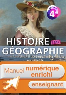 Histoire-Geographie-EMC cycle 4 / 4e - Ed 2016