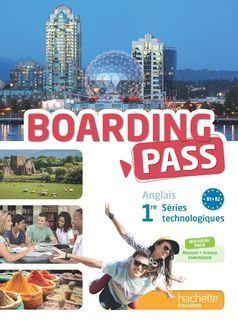 Boarding pass - anglais - 1re séries technologiques