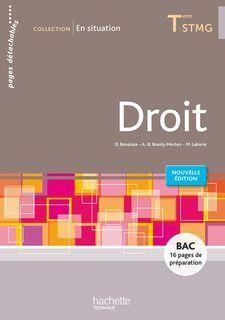 En situation - Droit - Terminale STMG - éd. 2016