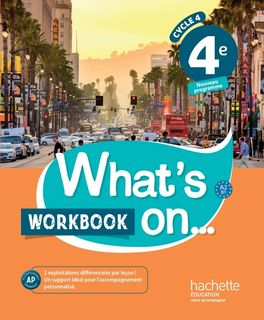 What's on... 4e Workbook