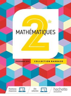 Barbazo Mathematiques 2de - Ed. 2019