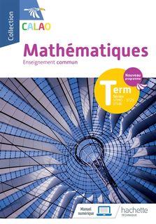 Calao - Mathématiques - Terminale STMG / ST2S / STHR - 2020