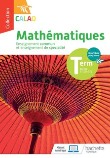 Calao - Mathématiques - Terminale STI2D / STL - 2020