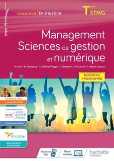 Management, Sciences de gestion et numérique - En situation - Terminale STMG - 2020
