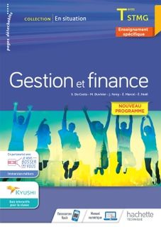 Gestion et Finance - En situation - Terminale STMG - 2020