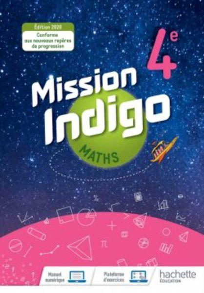 Mission Indigo Maths 4e - Ed. 2020