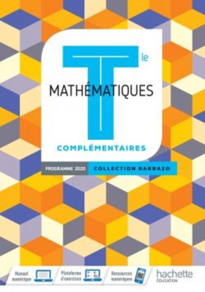 Barbazo Tle option Maths complémentaires Ed. 2020