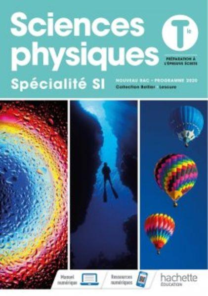 Sciences physiques Tle - specialite Sciences de l'ingenieur - Ed. 2020