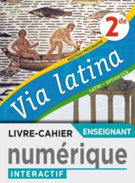 Via latina Latin 2de - Ed. 2020
