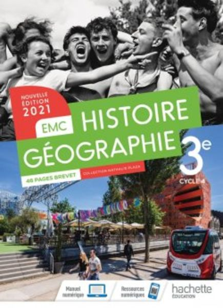 Histoire-Géographie-EMC 3e - Ed. 2021 Plaza