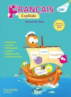 Français Explicite CM1 - Manuel numérique enseignant - Ed. 2017