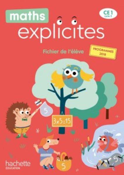 Maths explicites CE1 - Fichier numérique enrichi enseignant - édition 2020