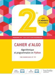 Barbazo Cahier d'algorithmique et de programmation 2de