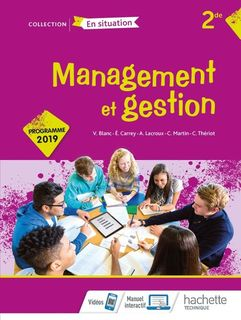 Management et gestion Option 2de - 2019