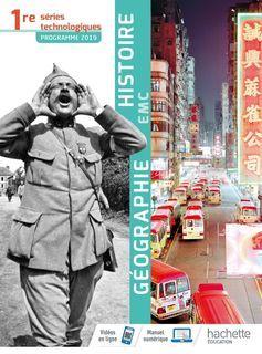 Histoire-Géographie-EMC 1re séries technologiques - 2019
