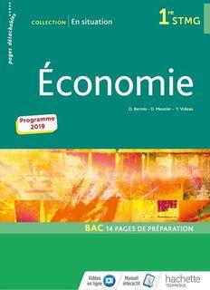 Economie En situation 1re STMG - 2019