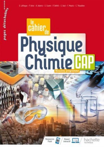 Cahier de Physique-Chimie CAP