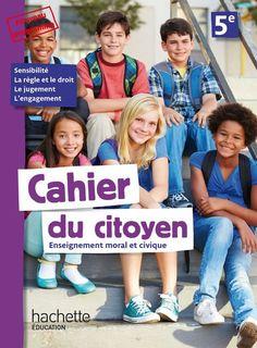 Cahier du citoyen 5e - Ed. 2019