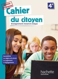 Cahier du citoyen 4e - Ed. 2019