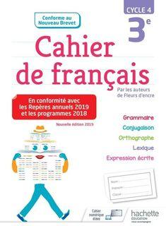 Cahier de francais 3e - Ed. 2019
