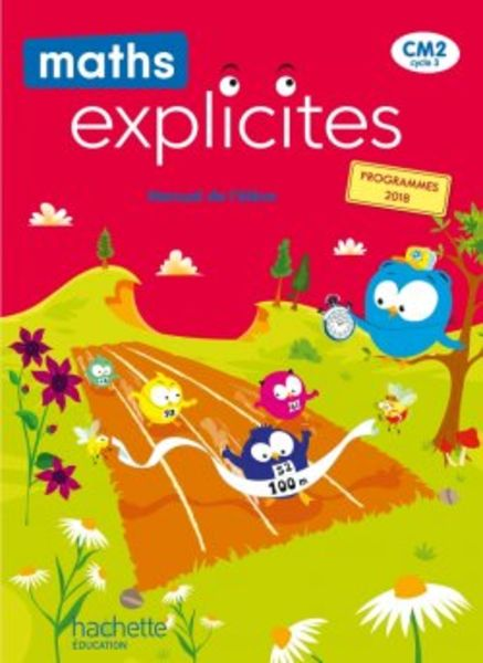 Maths explicites CM2 - Manuel numérique - Edition 2021