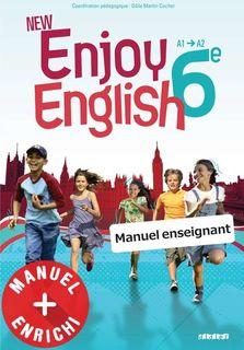 New Enjoy English 6e - Manuel numérique prémium enseignant