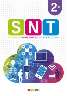 SNT - Sciences Numériques et Technologie 2de - Manuel numérique élève / enseignant
