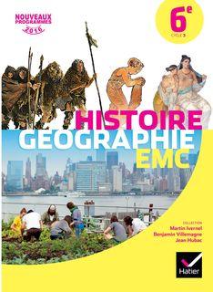 Histoire Géographie Enseignement Moral et Civique 6e éd 2016 Manuel numérique enseignant